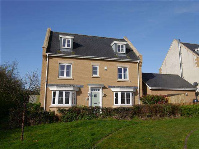 5 Bedrooms Detached House for sale in Bramley Close, Wellington TA21