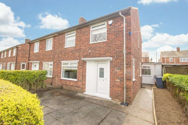 2 Bedrooms Semi Detached House for sale in Fabian Road, Eston, Middlesbrough, TS6 9RJ