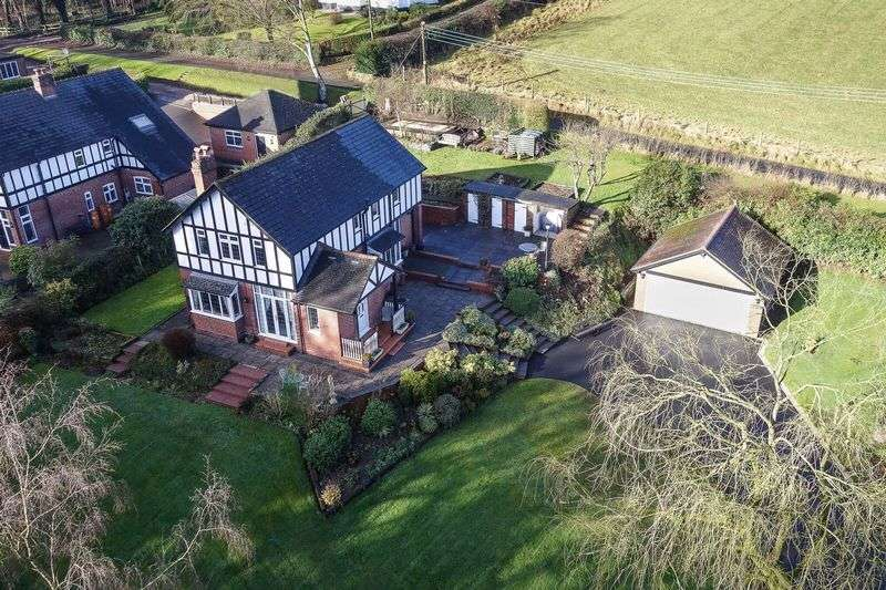 3 Bedrooms Detached House for sale in Chase Lane, Tittensor