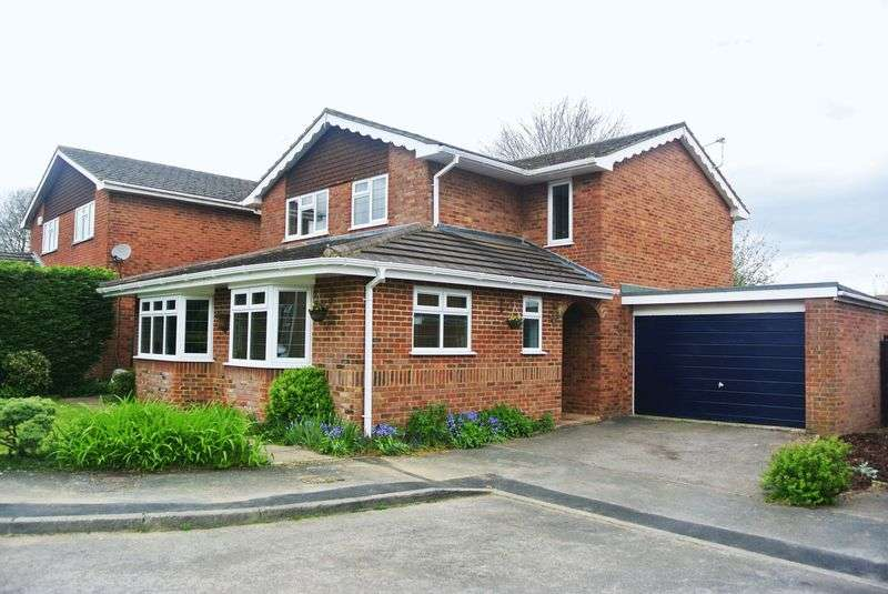 4 Bedrooms Detached House for sale in Pelham Close, Old Basing