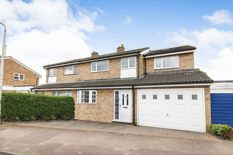 4 Bedrooms Semi Detached House for sale in Russell Drive, Ampthill