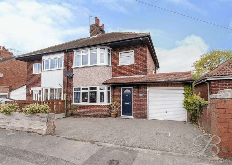 3 Bedrooms Semi Detached House for sale in Beckett Avenue, Mansfield