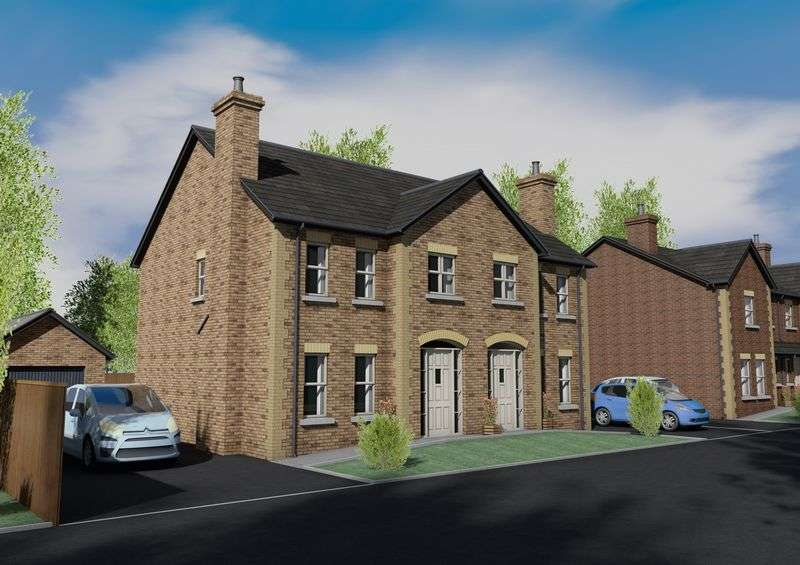 3 Bedrooms Semi Detached House for sale in Site 22 Bachelors Close, Portadown