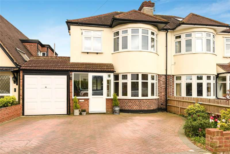 3 Bedrooms Semi Detached House for sale in Beechwood Avenue, Ruislip, Middlesex, HA4