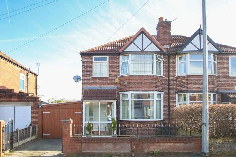 3 Bedrooms Semi Detached House for sale in Torbay Road, Urmston, Manchester, M41