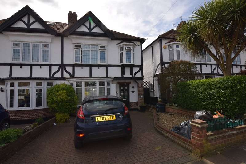 3 Bedrooms Semi Detached House for sale in Cleves Walk, Ilford, IG6