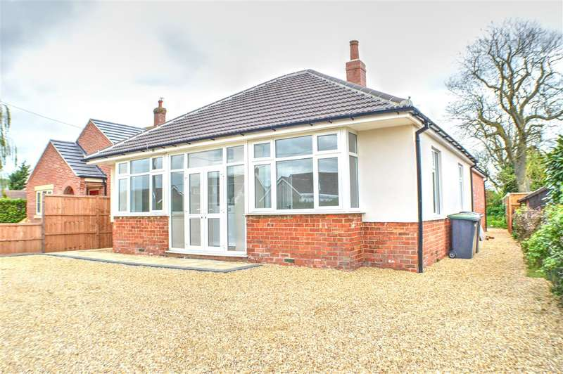 3 Bedrooms Bungalow for sale in Leasingham Lane, Ruskington, Sleaford