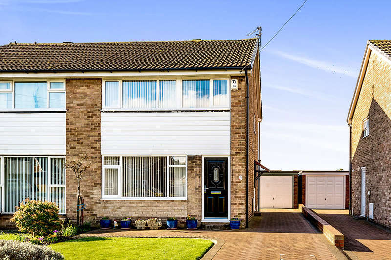 3 Bedrooms Semi Detached House for sale in Moor Knoll Close, East Ardsley, Wakefield, WF3