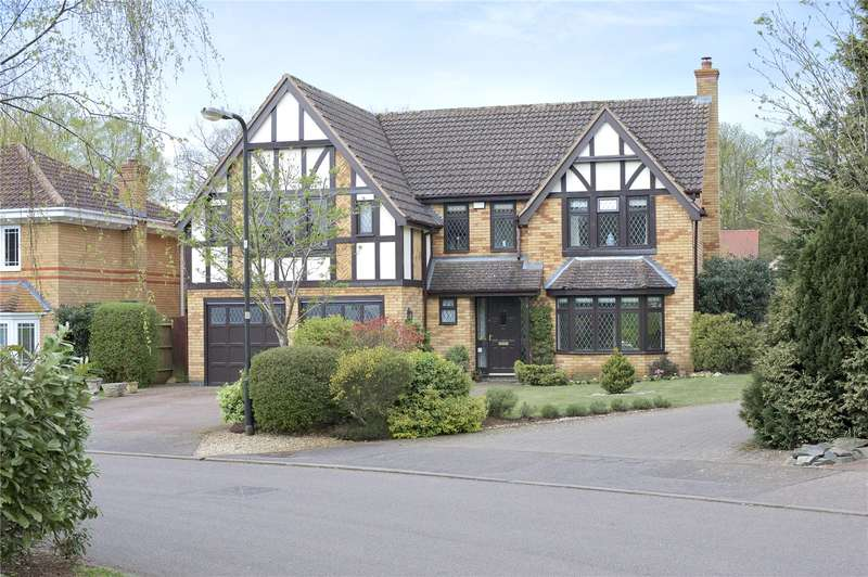 5 Bedrooms Detached House for sale in Rawlins Close, Twyford, Banbury, Oxfordshire, OX17