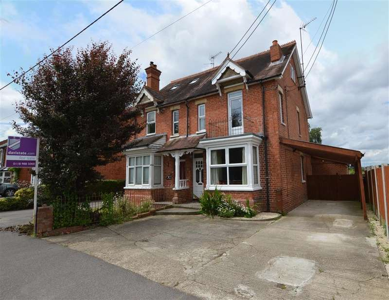 4 Bedrooms Semi Detached House for sale in Church Lane, Three Mile Cross, Reading, RG7