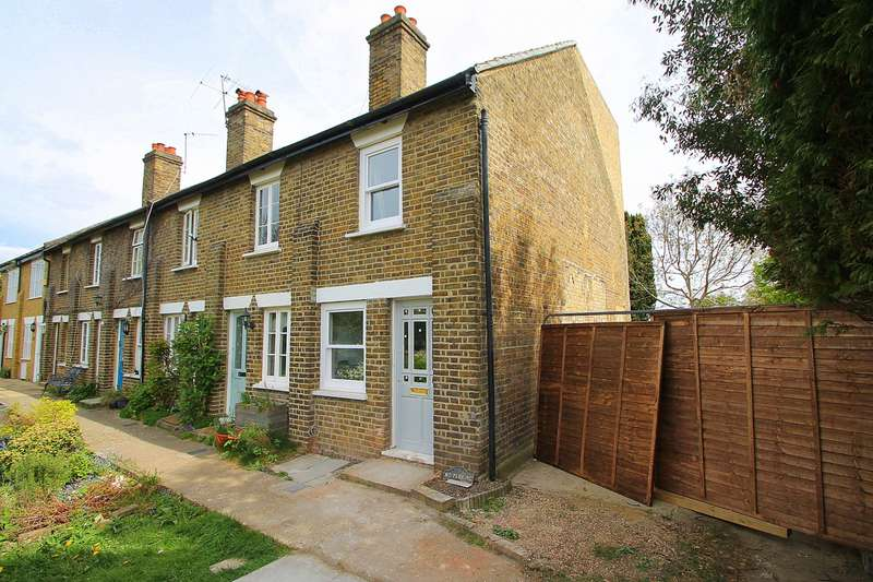 2 Bedrooms End Of Terrace House for sale in Glebeland Gardens, Shepperton, TW17