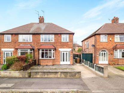 3 Bedrooms Semi Detached House for sale in Sydney Road, Wollaton, Nottingham, Nottinghamshire