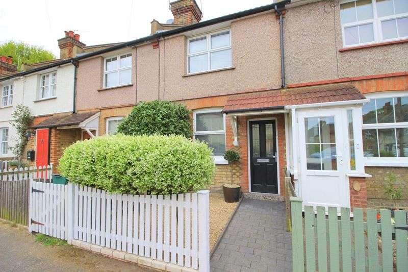 2 Bedrooms Terraced House for sale in Woodside Road, Sidcup, DA15 7JQ