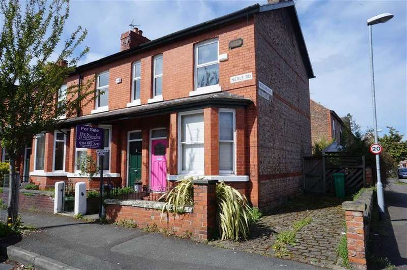 2 Bedrooms Property for sale in Neale Road, Chorlton Green, Manchester, M21