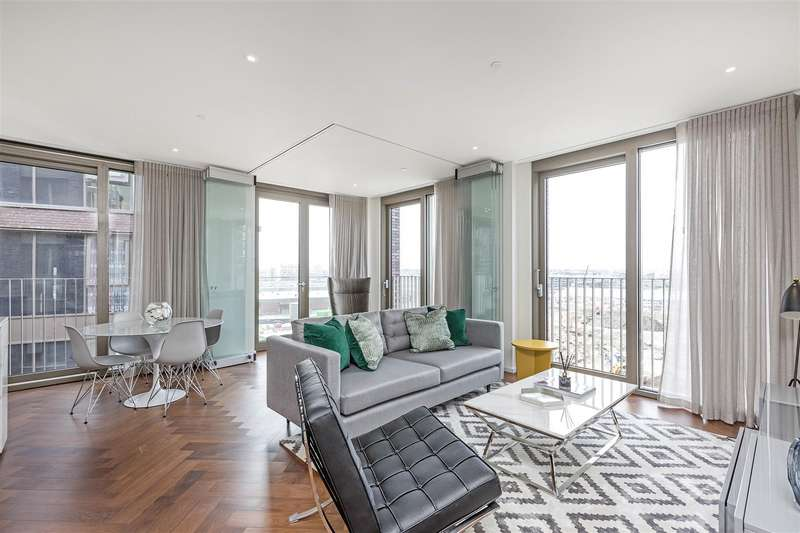 2 Bedrooms Flat for sale in Capital Building, Embassy Gardens, 8 New Union Square, Nine Elms, London SW11
