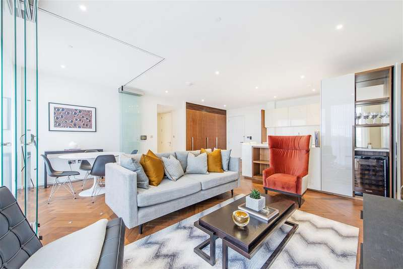 2 Bedrooms Flat for sale in Capital Building, 8 New Union Square, Nine Elms, London SW11