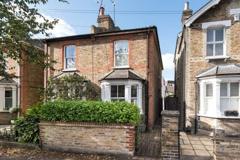2 Bedrooms Semi Detached House for sale in Clifton Road, Kingston upon Thames, KT2