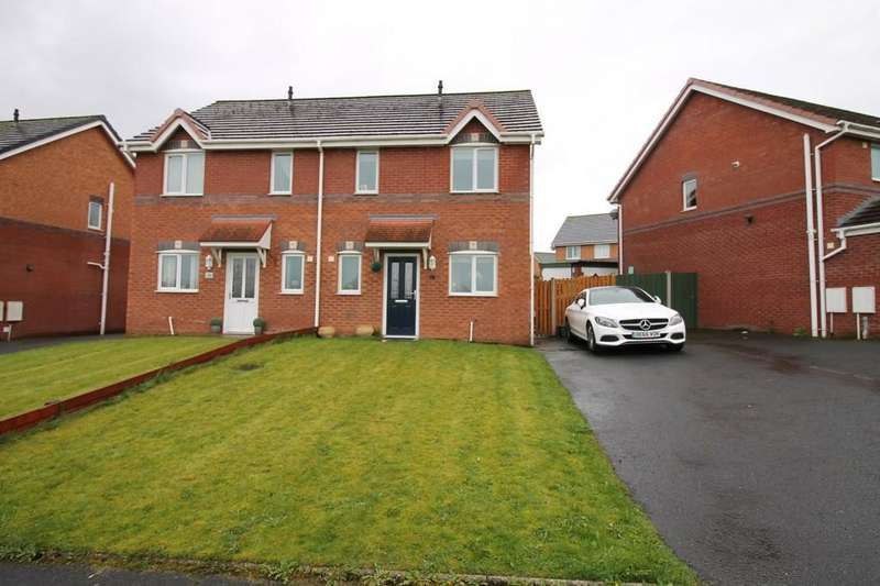 3 Bedrooms Semi Detached House for sale in Sheehan Gardens, Carlisle