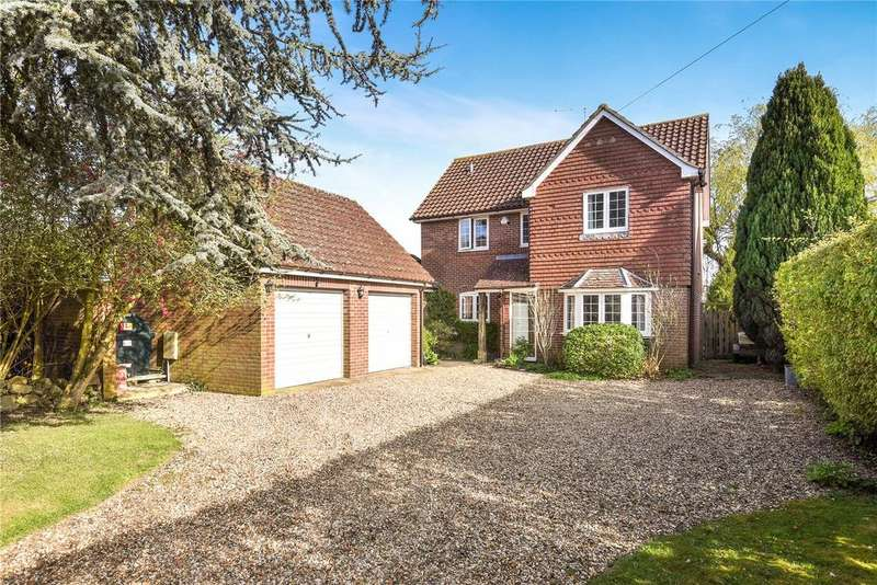4 Bedrooms Detached House for sale in West Overton, Marlborough, Wiltshire