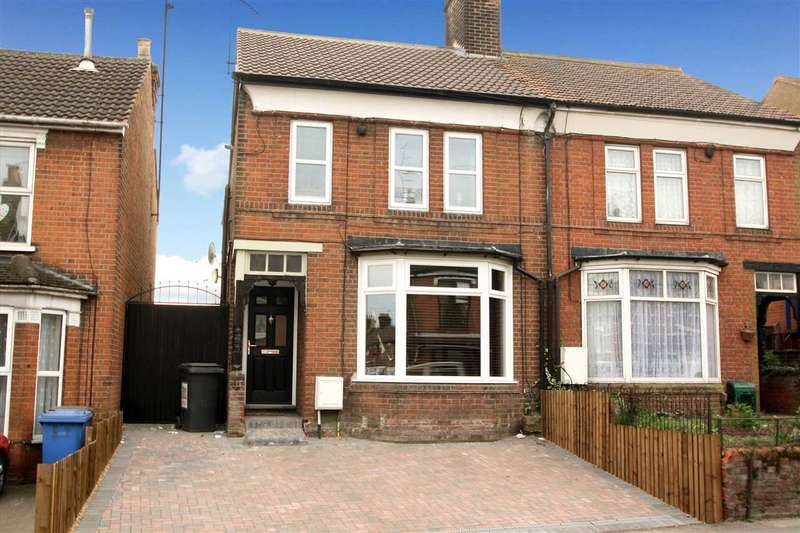3 Bedrooms Semi Detached House for sale in Bramford Road, Ipswich