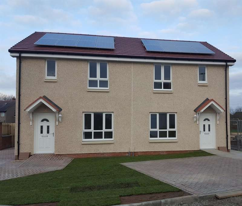 3 Bedrooms Semi Detached House for sale in Phase 3, Blythewood Terrace, Falkirk