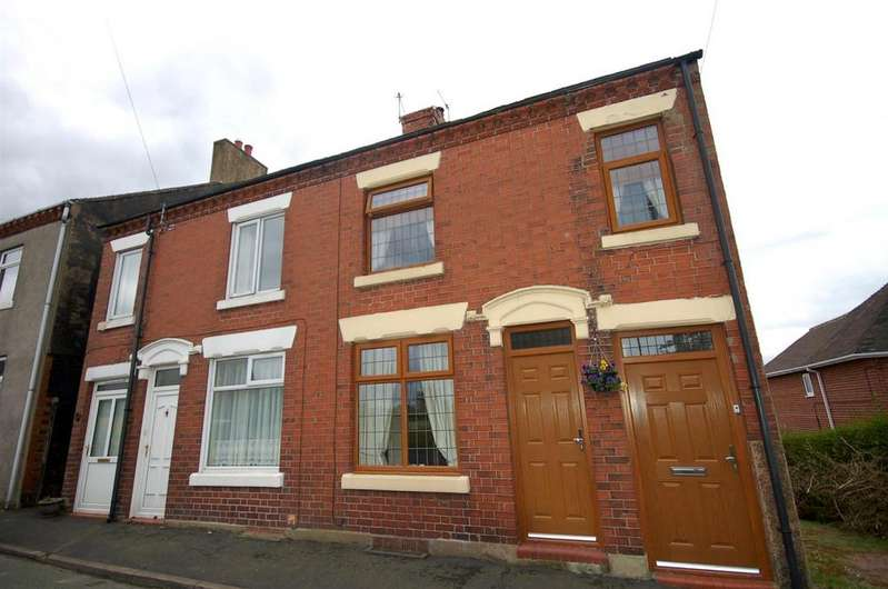 3 Bedrooms Semi Detached House for sale in Apedale Road, Wood Lane