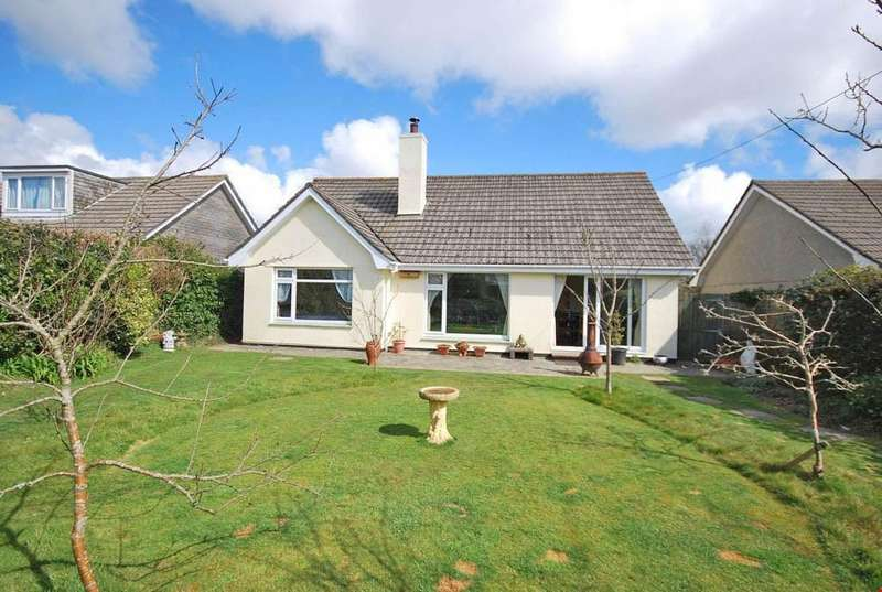 3 Bedrooms Detached Bungalow for sale in Threemilestone, Truro,Cornwall, TR3