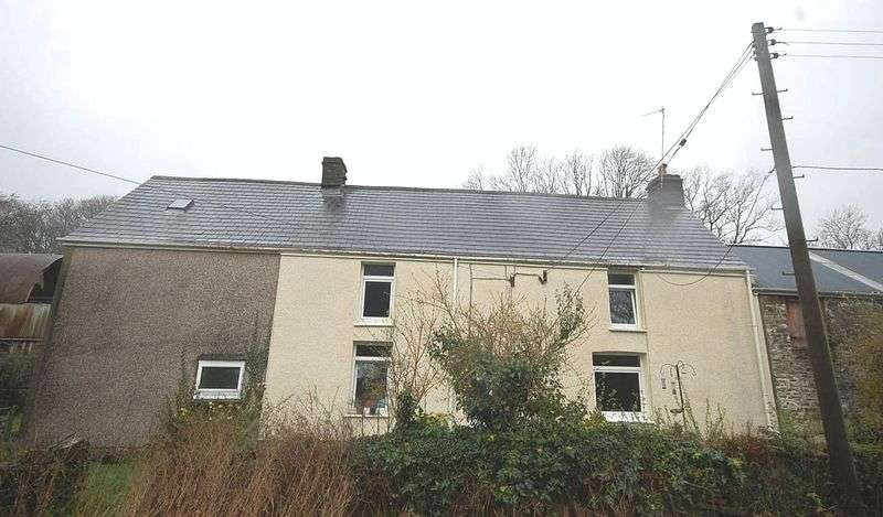 2 Bedrooms Detached House for sale in Bryndulais Farm, Seven Sisters, Neath, SA10 9EE