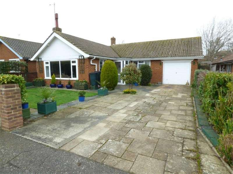3 Bedrooms Detached Bungalow for sale in Sutherland Close, Bexhill-on-Sea, TN39