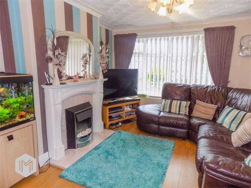 3 Bedrooms Semi Detached House for sale in Colchester Drive, Farnworth, Bolton, Lancashire