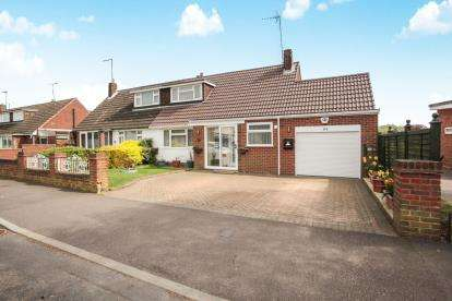 3 Bedrooms Bungalow for sale in Gooseberry Hill, Luton, Bedfordshire, Icknield