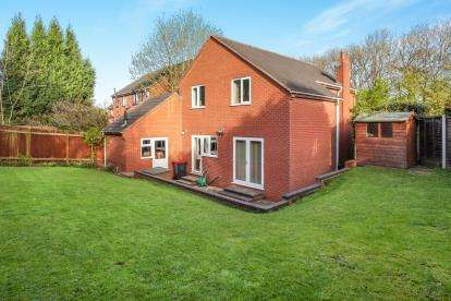 4 Bedrooms Detached House for sale in Trajan Hill, Coleshill, Birmingham, Warwickshire