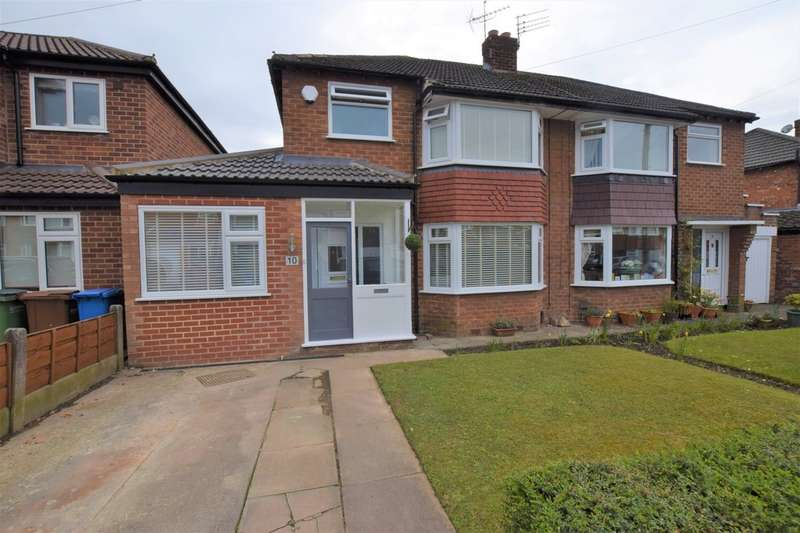 3 Bedrooms Semi Detached House for sale in Sunningdale Road, Cheadle Hulme