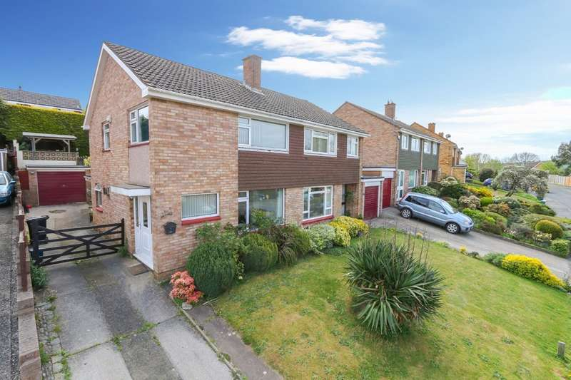3 Bedrooms Semi Detached House for sale in Bushmead Avenue, Kingskerswell