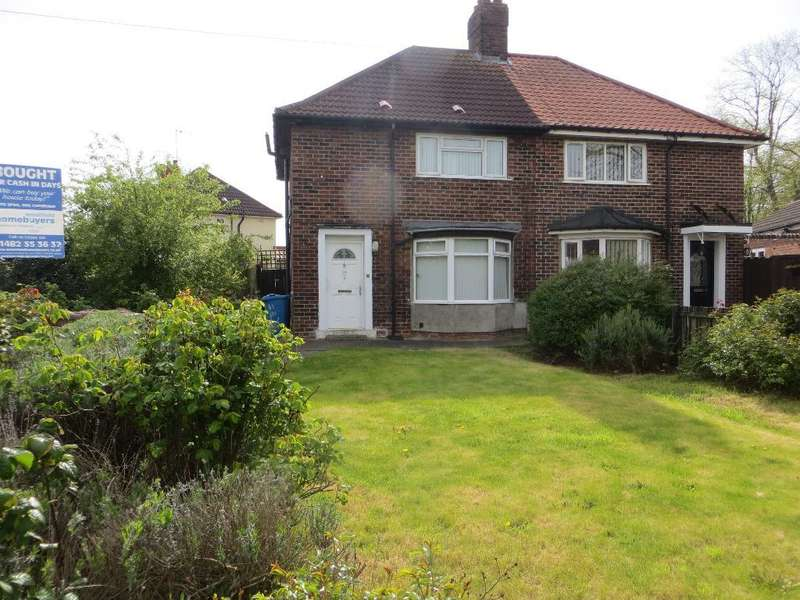 3 Bedrooms Semi Detached House for sale in 38th Avenue, Hull, HU6 9QP