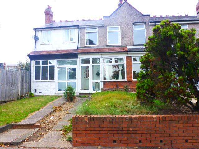 2 Bedrooms Terraced House for sale in Court Oak Road, Harborne, Birmingham, B17 9AD
