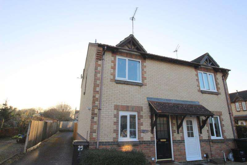2 Bedrooms Property for sale in Pritchard Close, Uper Stratton, Swindon