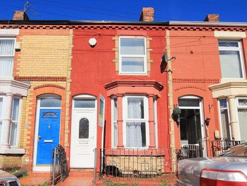 3 Bedrooms Terraced House for sale in Bartlett Street, Wavertree, Liverpool, L15.