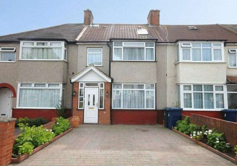 4 Bedrooms Terraced House for sale in Keats Way UB6 9HF Greenford