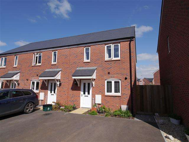 2 Bedrooms Terraced House for sale in Nash Drive, Wellington TA21