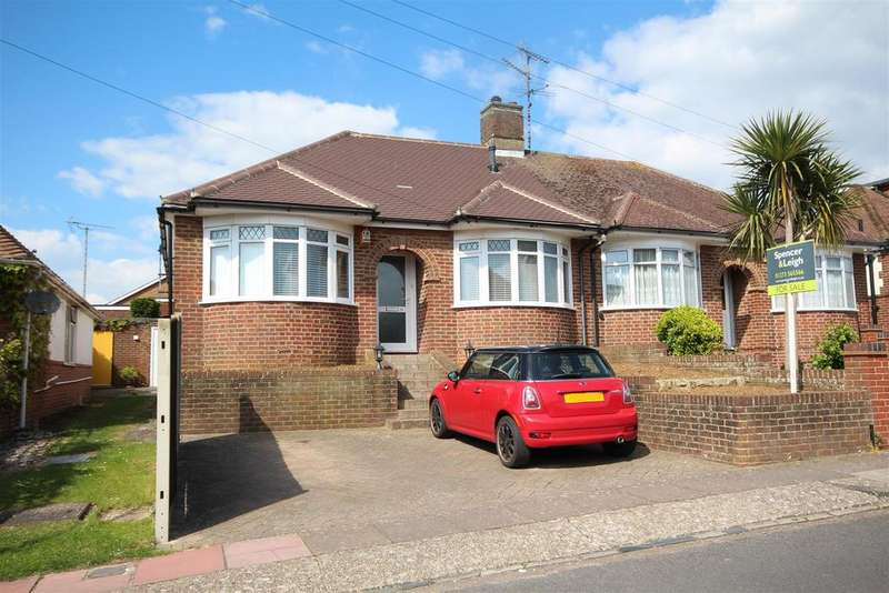 2 Bedrooms Semi Detached Bungalow for sale in Stoneleigh Avenue, Patcham, Brighton