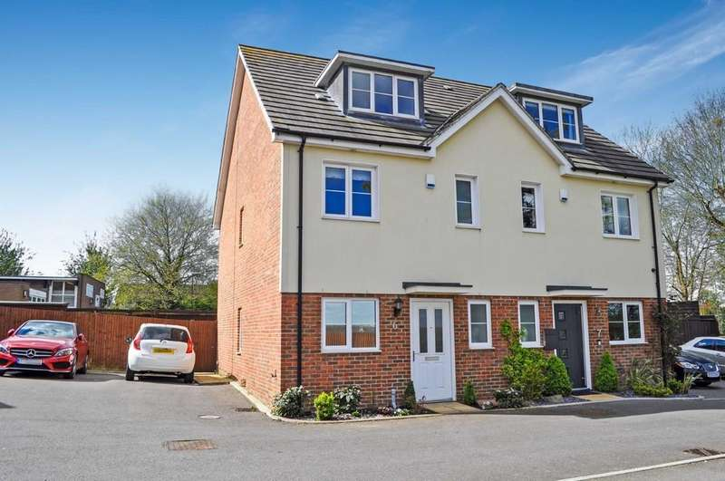 4 Bedrooms Semi Detached House for sale in Blackdown Close, Southgate
