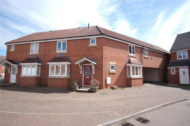 3 Bedrooms End Of Terrace House for sale in Viscount Square, Bridgwater, Somerset, TA6