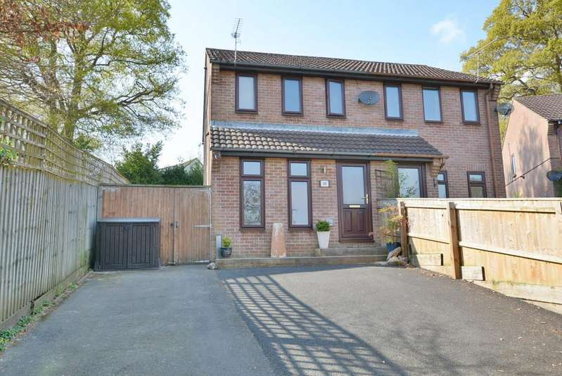 2 Bedrooms Semi Detached House for sale in Cartref Close, VERWOOD