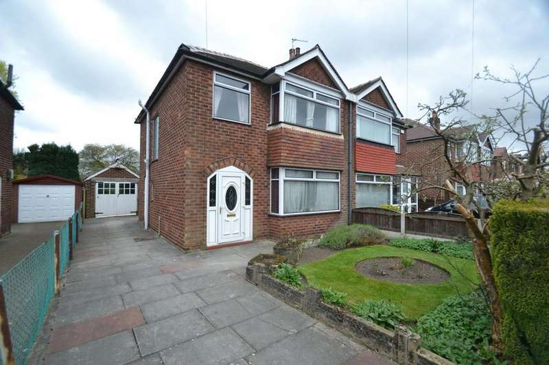 3 Bedrooms Semi Detached House for sale in Gaydon Road, Sale