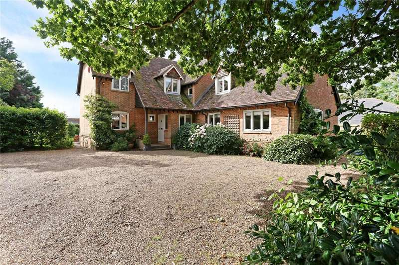 4 Bedrooms Detached House for sale in Cleves Lane, Upton Grey, Basingstoke, Hampshire, RG25