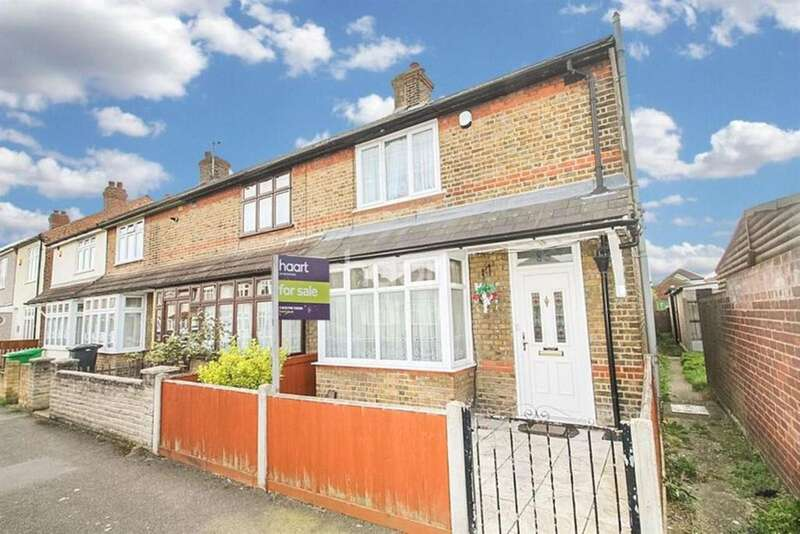3 Bedrooms End Of Terrace House for sale in Grosvenor Road, Rush Green