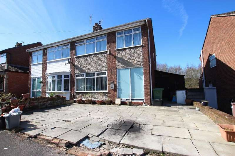 3 Bedrooms Semi Detached House for sale in Thornham Avenue, Peasley Cross, St Helens WA9