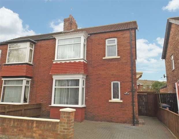 3 Bedrooms Semi Detached House for sale in Ings Road, Redcar, North Yorkshire