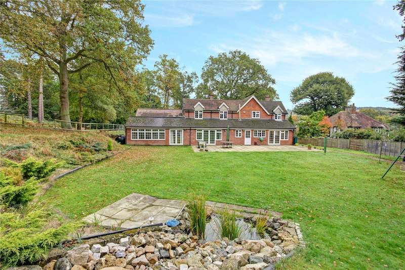 5 Bedrooms Detached House for sale in Long Lane, Hermitage, Thatcham, Berkshire, RG18